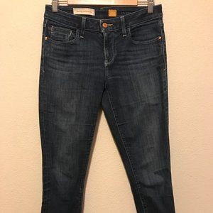 Anthropology Pilcro Mid Rise Skinny Jeans 27